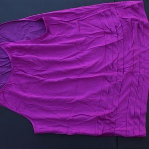Ladies blouse medium purple